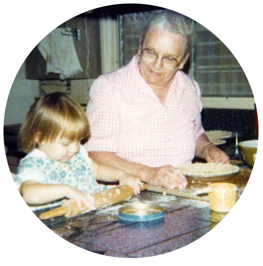 International Women's Day - Joanna and Grandmother Myrtle Back in The Day